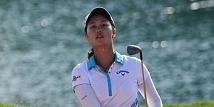 Lin captures early lead at Blue Bay LPGA