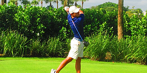 Former junior star embarks on unusual path in professional golf