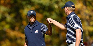 For Tiger Woods and U.S. Ryder Cuppers, it�s time to get to work for Hazeltine