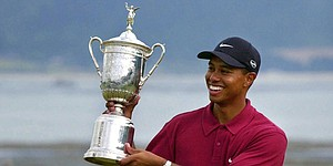 40 reads: 'Mortals' witness a Monterey massacre as Tiger wins 2000 U.S. Open