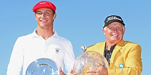 Peter Senior, 56, wins Australian Masters; DeChambeau places second