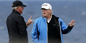 Q&A: Donald Trump, 'Golf has been very good for me'