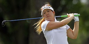 After lengthy slump, Song finds herself with share of LPGA Q-School lead