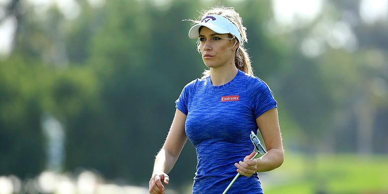 Paige Spiranac, shown at the 2015 Omega Dubai Ladies Masters
