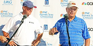 Jack Nicklaus finds joy in playing with sons in post-professional life