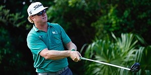 Berger and Hoffman take slim lead at Franklin Templeton Shootout