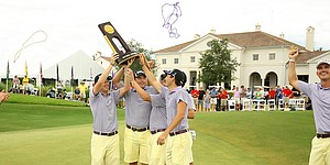 Men's College Golf top 10 moments in 2015: LSU's improbable national title