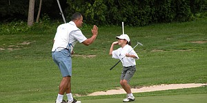 Little Linksters 'best golf swing' video contest information