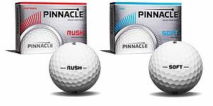 Pinnacle Rush, Soft Golf Balls
