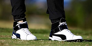 Puma plans to release Rickie Fowler's high-top shoes, joggers