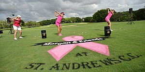 This year's edition of Morgan Pressel's charity golf event will set records