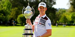 Stone wins first European Tour title by two at BMW SA Open