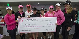 Morgan Pressel and friends raise $1 million for breast-cancer initiatives