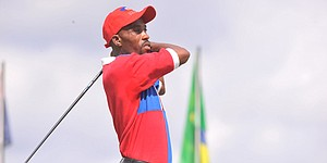 Haiti's Jean a joyful 'leader' in the clubhouse at Latin America Amateur