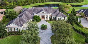 Woodland lists Lake Nona home, then declares himself built to last