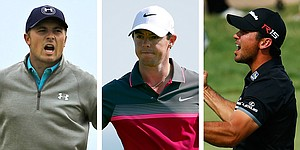 Vegas odds favor Spieth, McIlroy and Day to win majors in 2016