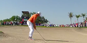 VIDEO: Rickie Fowler holes out twice on way to Abu Dhabi victory
