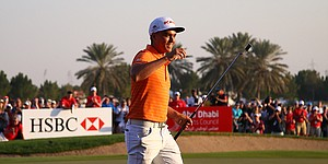Rickie Fowler rises in ranking after win at Abu Dhabi
