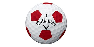 Callaway's Chrome Soft golf ball with Truvis Technology designed for better focus, visibility