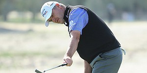 Paul Lawrie on pace to make history at Qatar Masters