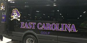 VIDEO: Tour East Carolina's team van