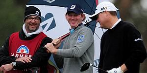 Brandt Snedeker wins internet with weather tweet