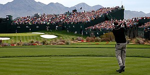 On the tee: Waste Management Phoenix Open