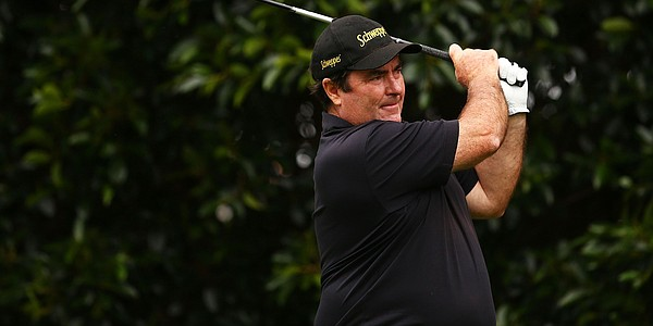 Craig Parry welcomes busy weekends with golfers his own age