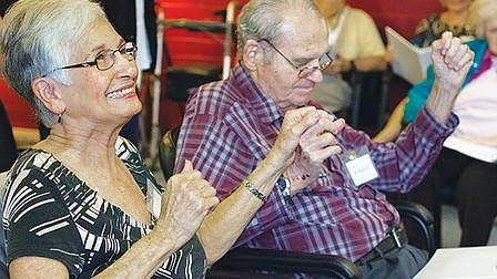 Choir uses music to engage seniors with memory loss