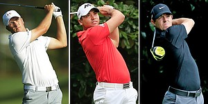 "Golf's ""Big Three"" receives respect on tour"