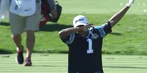 Varner III dons Panthers jersey, draws ire of fans at Phoenix Open