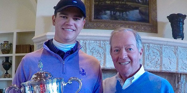 Beau Hossler runs away with Jones Cup for third win in five events
