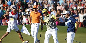 RECAP: Matsuyama edges Fowler in marathon playoff at Phoenix Open