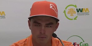 VIDEO: Rickie Fowler gets emotional after Phoenix Open playoff loss