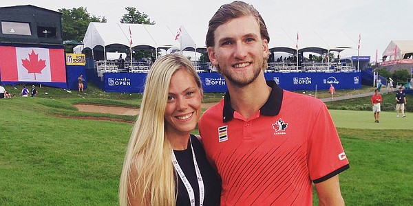 Canadian Blair Hamilton finishes 2nd at Jones Cup, but his sweetheart is No. 1 concern