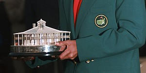 There's a Masters Trophy? Yes, and Jordan Spieth thinks it's 'pretty cool'