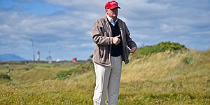 Donald Trump says Turnberry remains part of British Open rota