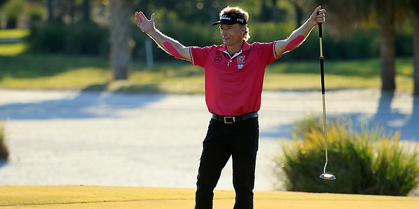 Langer extends lead to seven at Chubb Classic