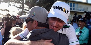 Taylor survives unlikely 11-year journey to reach winner's circle again, at Pebble Beach