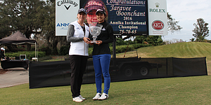 Jaravee Boonchant posts record 65 to storm to ANNIKA Invitational victory