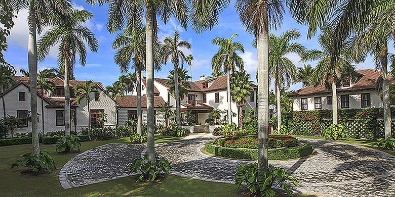 Greg Norman's estate.