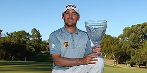 Louis Oosthuizen earns first victory since 2014 at Perth International