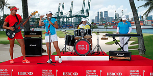 Lydia Ko, Lexi Thompson and others rock out on stage in Singapore