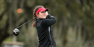 Relaxed, but strategic Rachael Taylor holds three-shot lead at Gator Invite