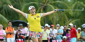 Ha Na Jang's entertaining win on LPGA Tour in Singapore moves her up to No. 5