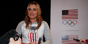 Thompson, Lewis among American Olympic stars at L.A. summit event