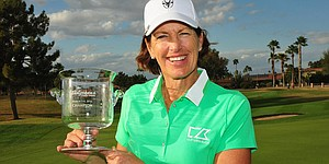 Juli Inkster claims second Legends Tour victory in Arizona
