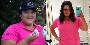 Symetra Tour's Amy Ruengmateekhun lost 53 pounds, added swing speed and consistency