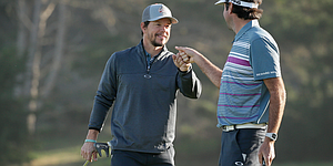 Mark Wahlberg scores hole-in-one with Rory-stamped golf ball; McIlroy responds