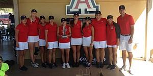 Arizona, Quihuis rally to sweep Wildcat Invitational titles